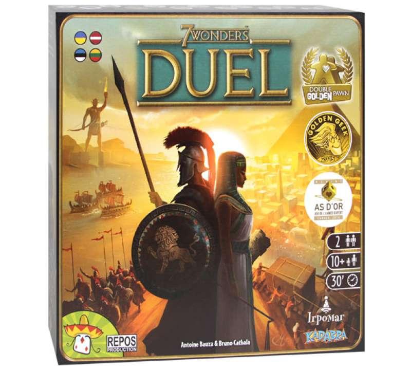 Настольная игра 7 Чудес: Дуэль (7 Wonders: Duel)