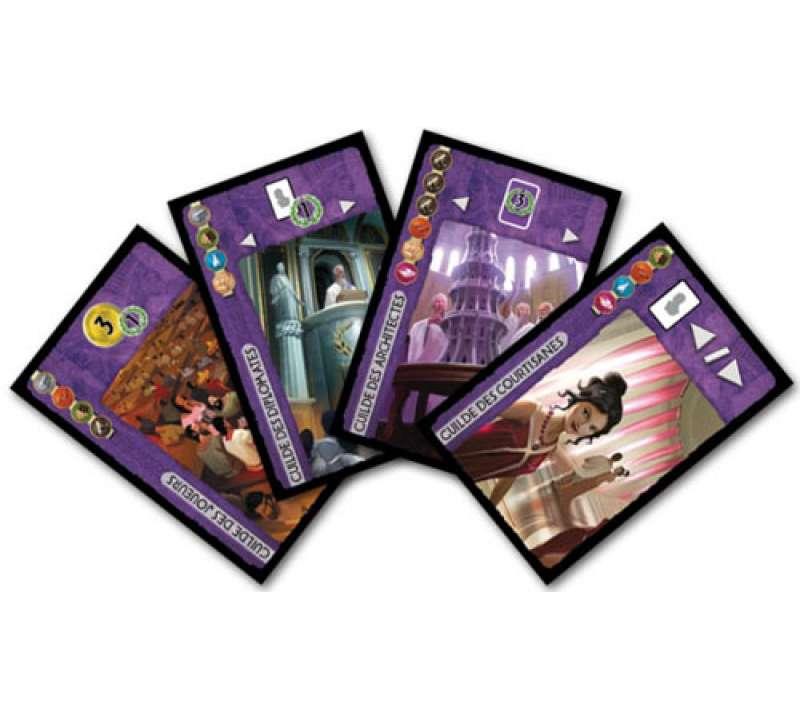 Настольная игра 7 Wonders Leaders (7 чудес Лидеры)