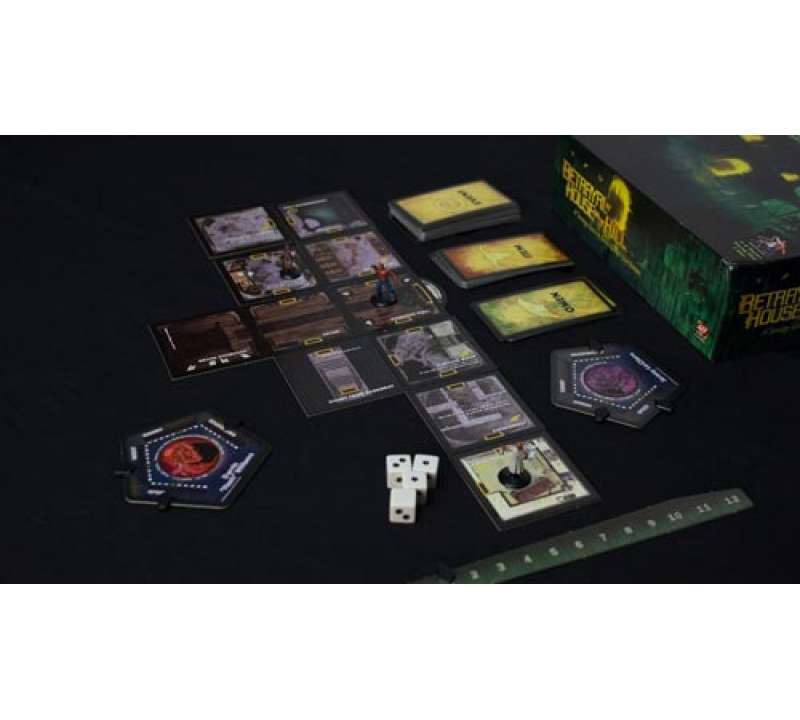 Настольная игра Betrayal at House on the Hill (Предательство в доме на холме)