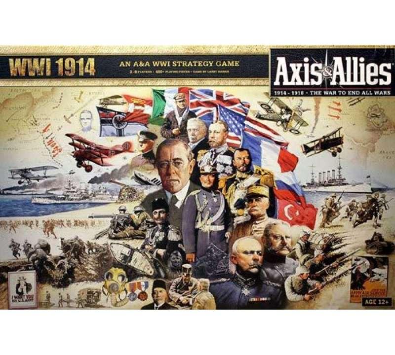 Настольная игра Axis and Allies WWI 1914