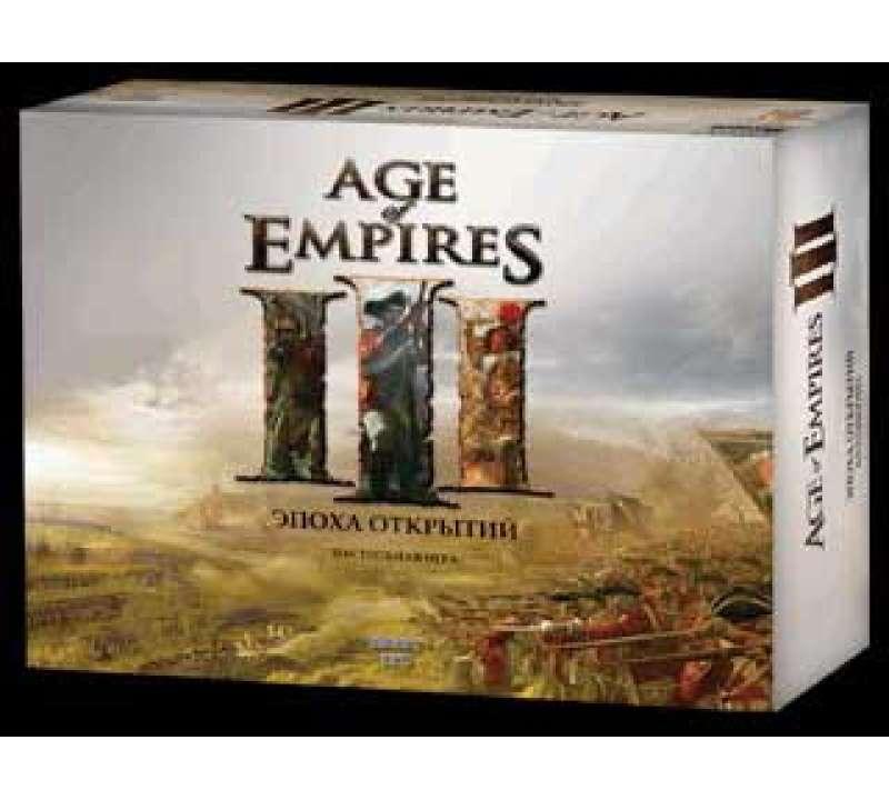 Настольная игра Age of Empires III Эпоха Открытий