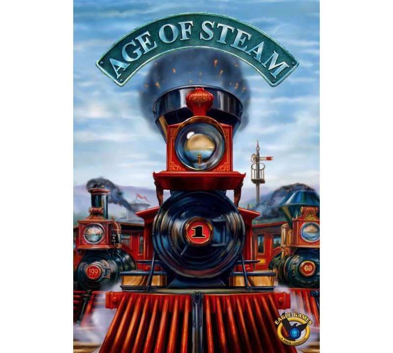 Настольная игра Age of Steam (Эра пара)