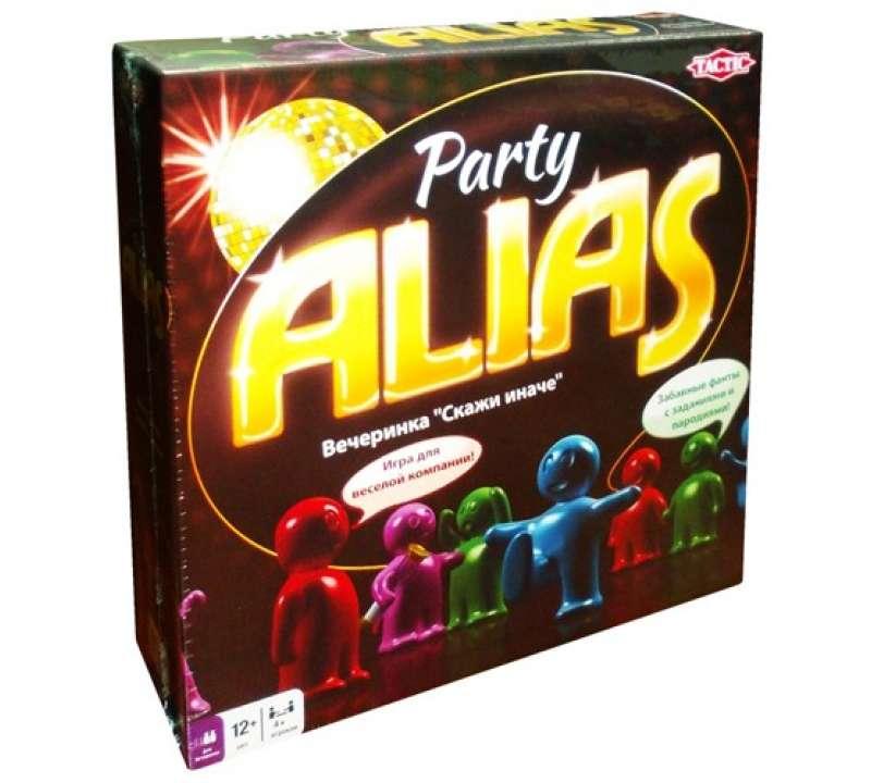Настольная игра Alias Party (Элиас Вечеринка)