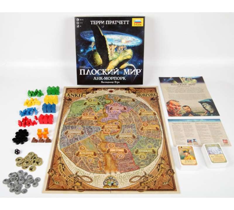 Настольная игра Анк-Морпорк Плоский Мир