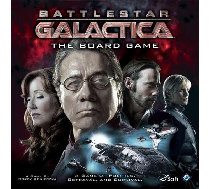 Настольная игра Battlestar Galactica