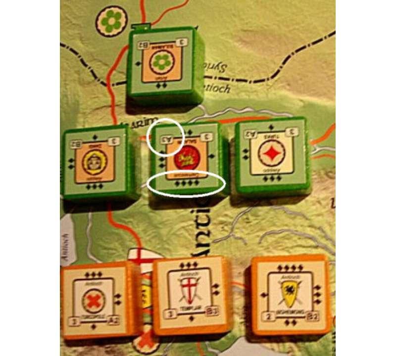Настольная игра Crusader Rex (Крестоносцы)