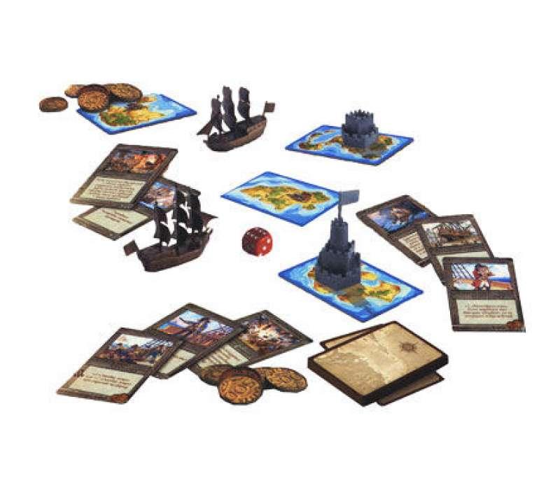 Настольная игра Карибские пираты