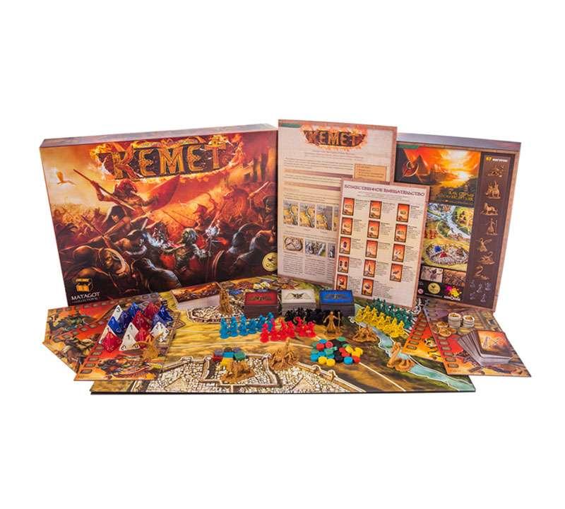 Кемет (Kemet) настольная игра