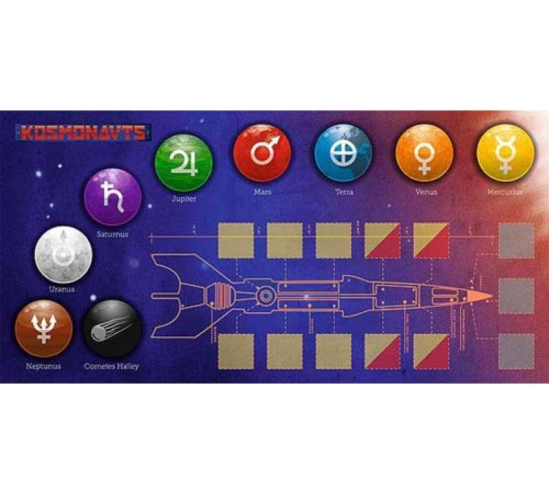 Настольная игра Космонавты