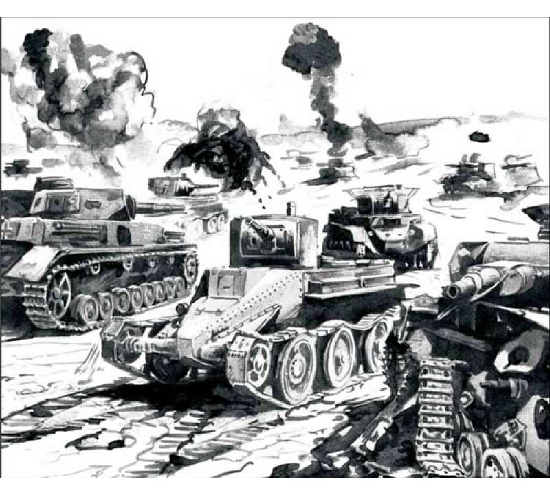 Настольная игра Курск 1943. Огненная дуга
