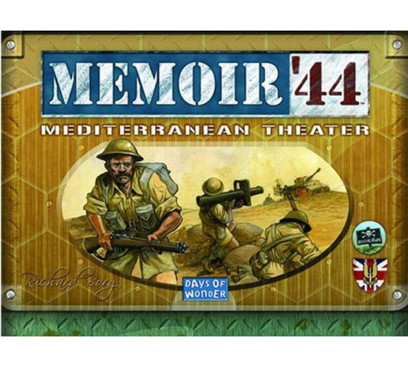 Настольная игра Memoir 44 Mediterranean Theater