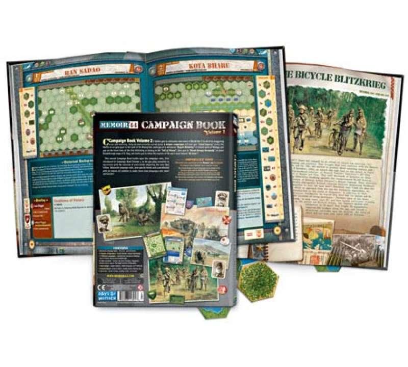Настольная игра Memoir 44: Campaign Book Volume 2
