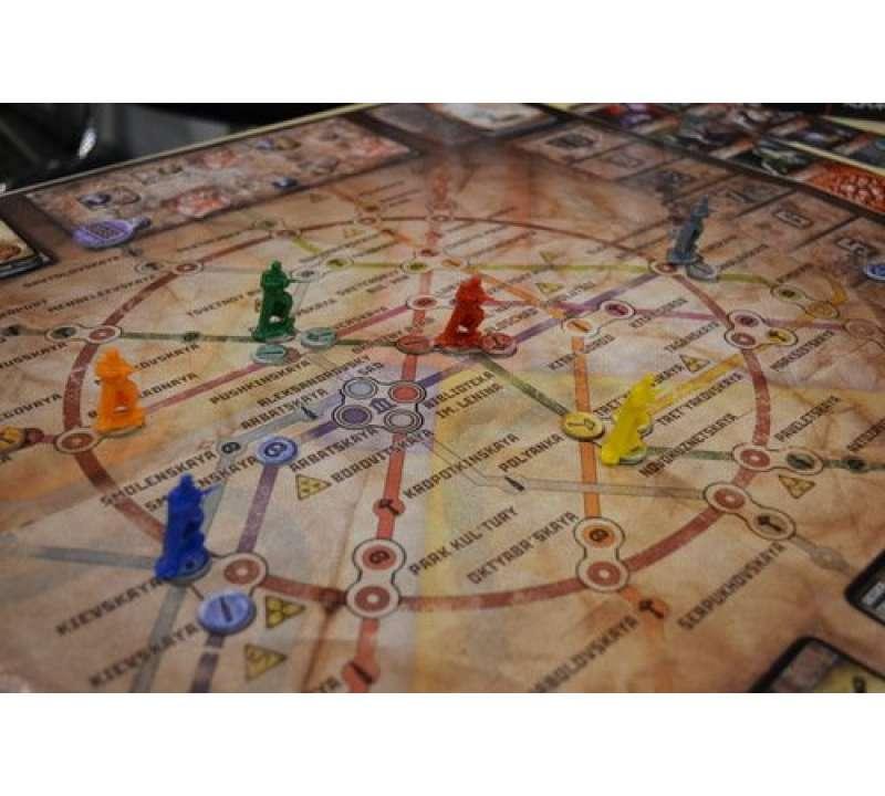 Настольная игра Метро 2033 (Metro 2033) 2-е издание