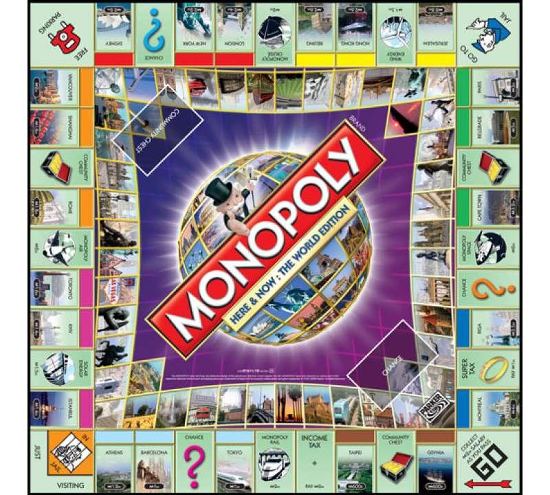 Настольная игра Монополия. Здесь и сейчас: Всемирная версия