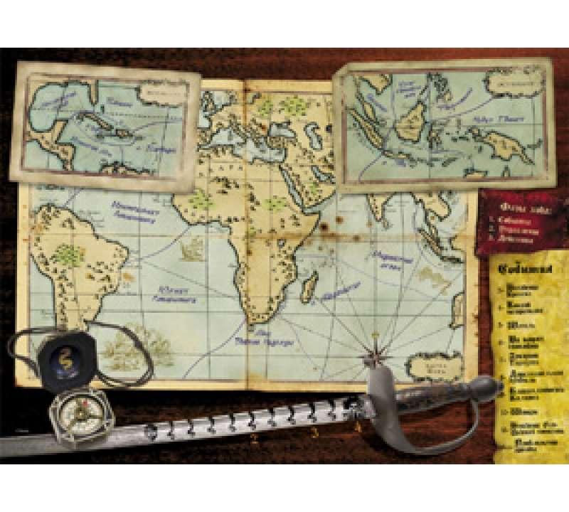 Настольная игра Пираты Карибского моря На краю света