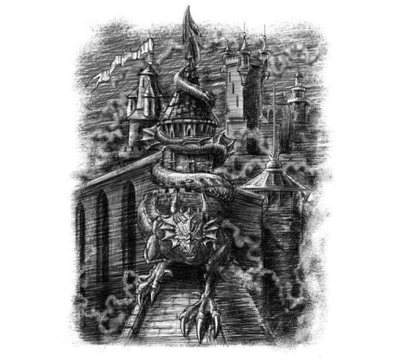 Проклятие замка Пяти башен. Книга-игра