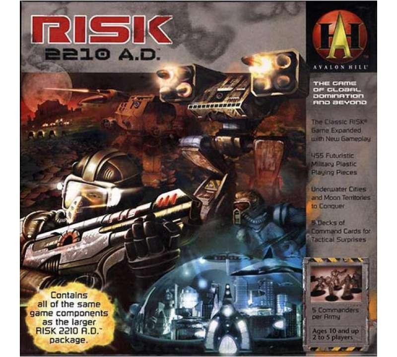 Настольная игра Risk 2210 A.D.