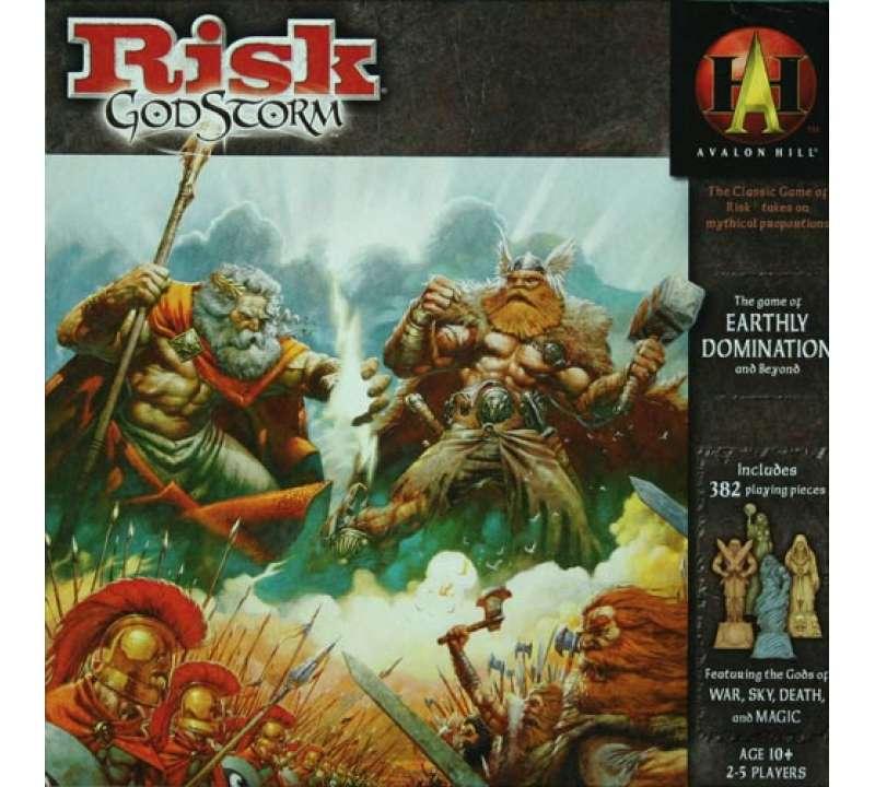Настольная игра Risk GodStorm