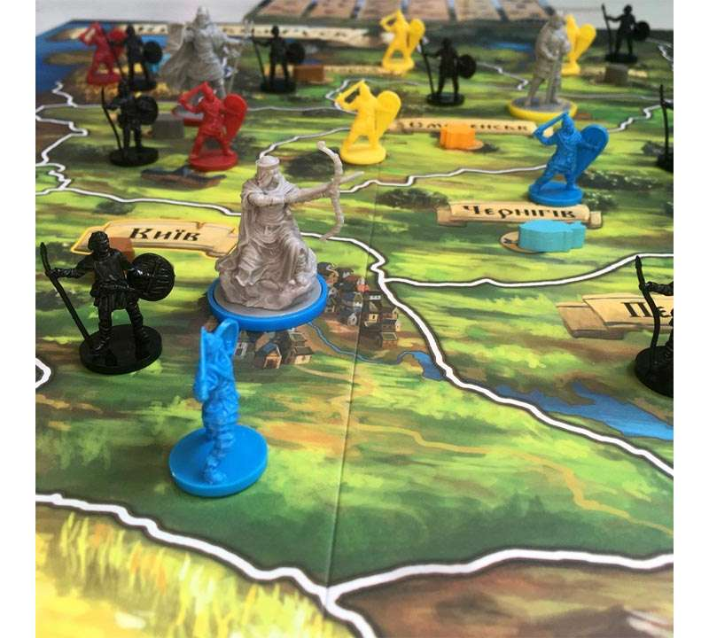 Настольная игра Рюрик: Рассвет Киева (Rurik: Dawn of Kiev)