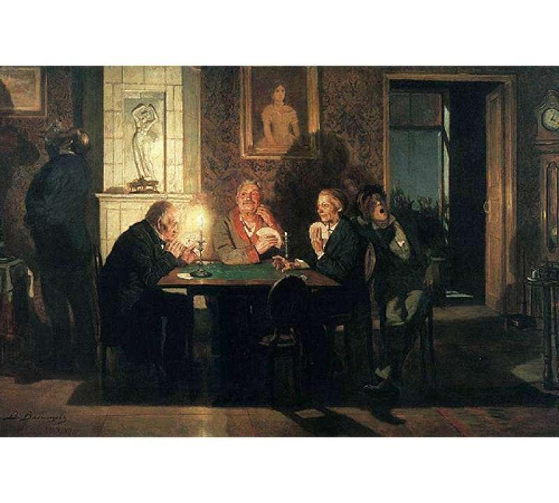 Настольная игра Русский Преферанс: подарочный набор