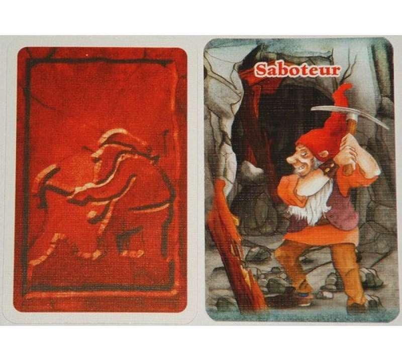 Настольная игра Саботёр (Saboteur)