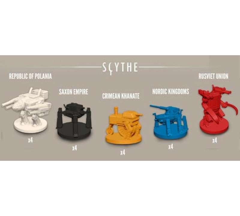 Настольная игра Серп (Scythe)