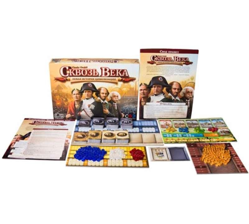 Настольная игра Сквозь века: Новая история цивилизации