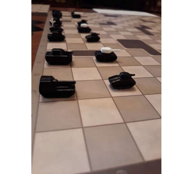 Настольная игра Танковые шахматы (Tank Chess)