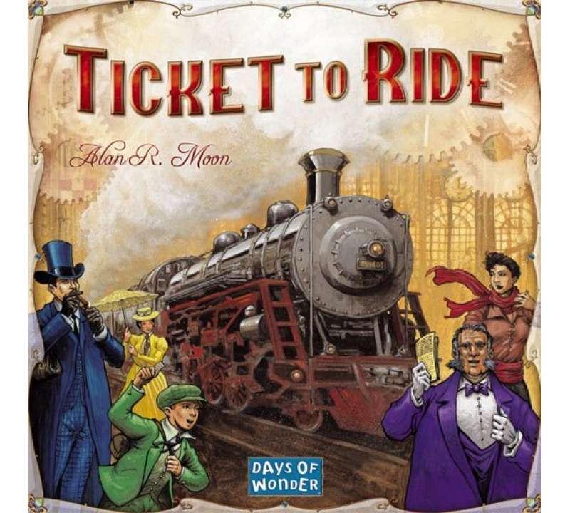 Настольная игра Ticket to Ride: Америка
