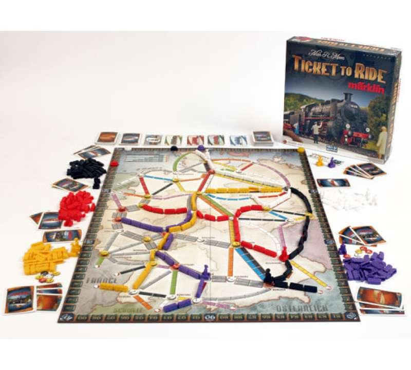 Купить настольную игру Ticket to Ride: Marklin