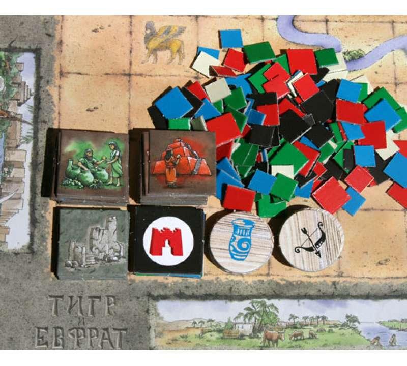 Настольная игра Тигр и Евфрат (Tigris & Euphrates)