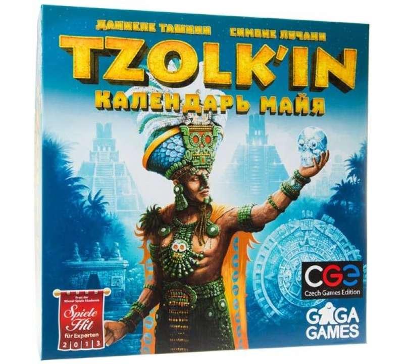 Настольная игра Цолькин: Календарь Майя (Tzolk'in)
