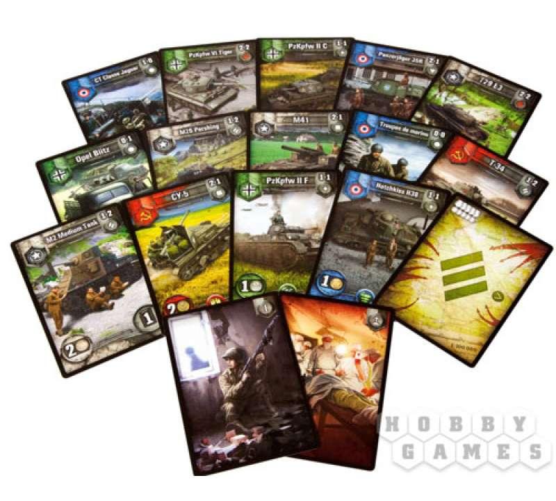 Настольная игра World of Tanks Rush