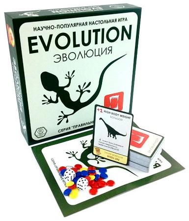 настольная игра evolution